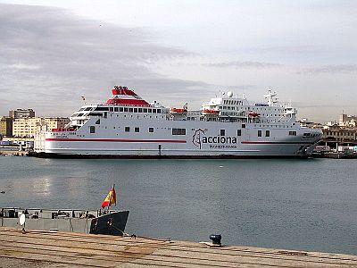 Acciona Trasmediterranea ferry