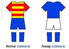 home and away strips of CD San Isidro