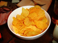 crisps (or potato chips)