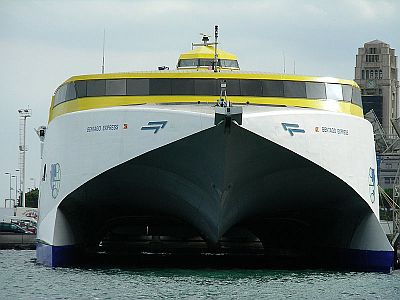 Tenerife ferry 1