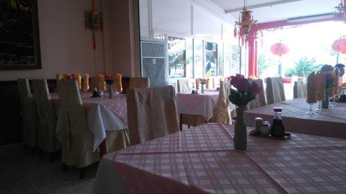 Fu Xin Chinese restaurant, Los Cristianos, Tenerife, interior