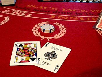 blackjack winning hand