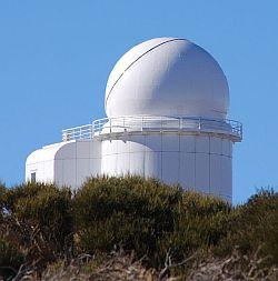 THEMIS telescope at the Teide Observatory, Tenerife