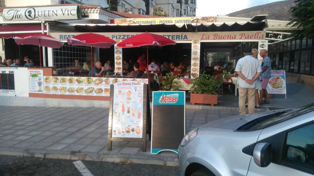 La Buena Paella restaurant, Los Cristianos, Tenerife