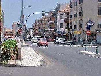 Las Galletas town centre