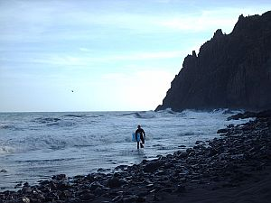 Las Gaviotas beach