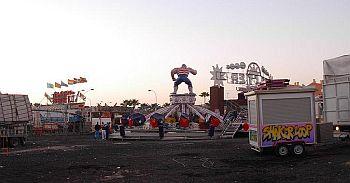 Los Cristianos fairground