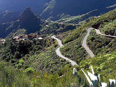 The road into Masca