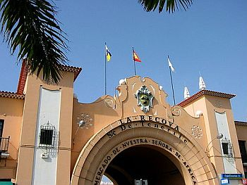 Mercado  Nuestra Senora de Africa Santa Cruz