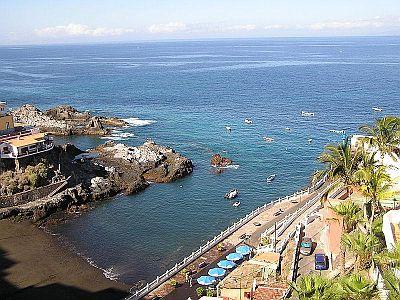 Tenerife beaches santiago del teide including los gigantes - Puerto santiago tenerife mapa ...