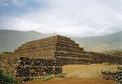 the Pyramids at Guimar