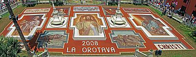 La Orotava sand carpet