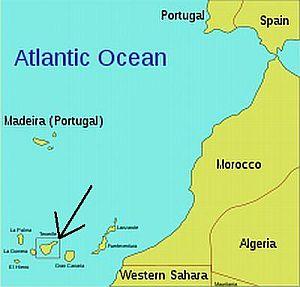 Maps Google Canary Islands