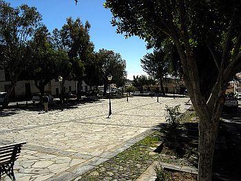 Vilaflor town square