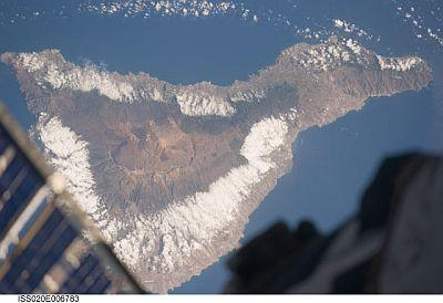 Tenerife from space