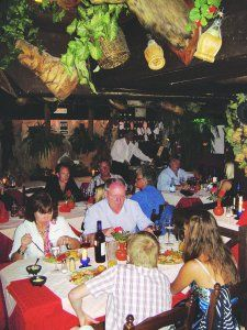 Banana Garden Restaurant, Las Americas, interior