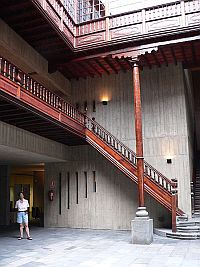 Interior courtyard of Canarian Parliament building