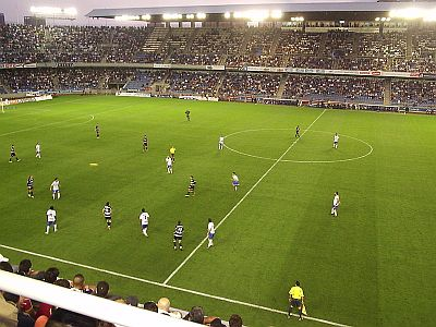 CD Tenerife football match