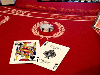 blackjack winning hand