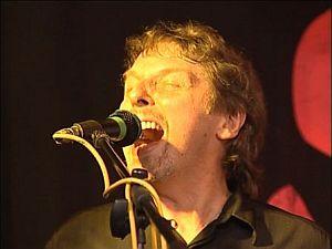 John singing
