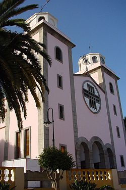 the church at La Matanza, Tenerife