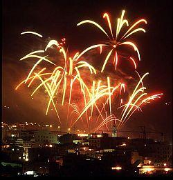 Los Realejos firework display