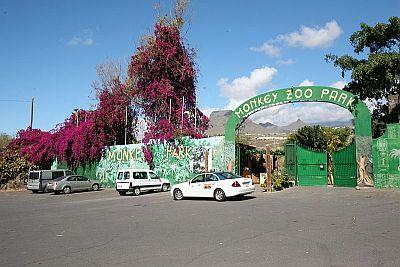Monkey Park entrance