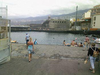 Puerto de la Cruz harbour