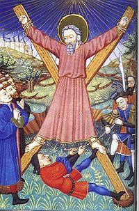 Saint Andrew crucifiction