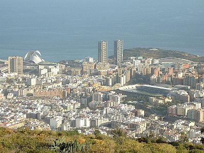 Santa Cruz panorama
