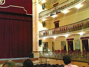 Teatro Leal, La Laguna, Tenerife, interior